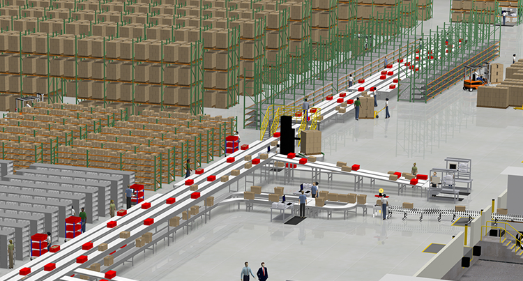 conveyor-and-racking-system